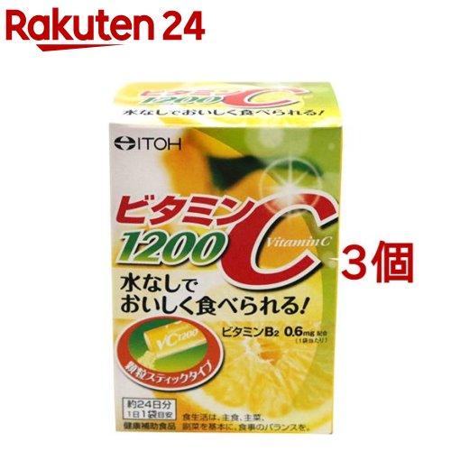 アウトレットセール 特集 井藤漢方 ビタミンC1200 期間限定 2g 24袋入 3コセット
