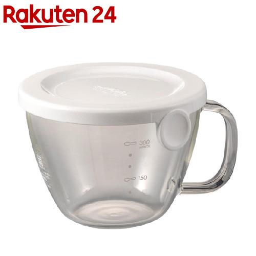 売店 ハリオ HARIO 本店 ガラスのレンジスープカップ 1個 XSC-1-W