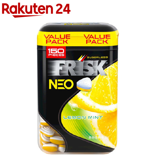 FRISK フリスク クラシエ 105g 希望者のみラッピング無料 フリスクネオボトル レモンミント 低価格化