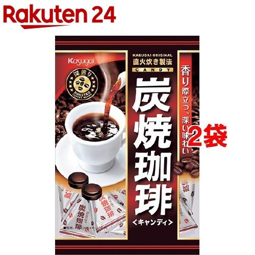 春日井製菓 炭焼珈琲(100g*2袋セット)
