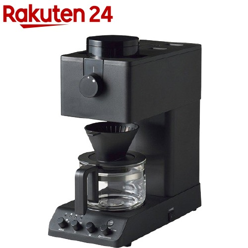 ツインバード 現品 TWINBIRD 全自動コーヒーメーカー 1台 CM-D457B 注目ブランド