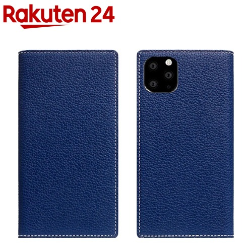 SLG Design iPhone 11 Pro Full Grain Leather Case ネイビーブルー SD17876i58R(1個)【SLG Design(エスエルジーデザイン)】