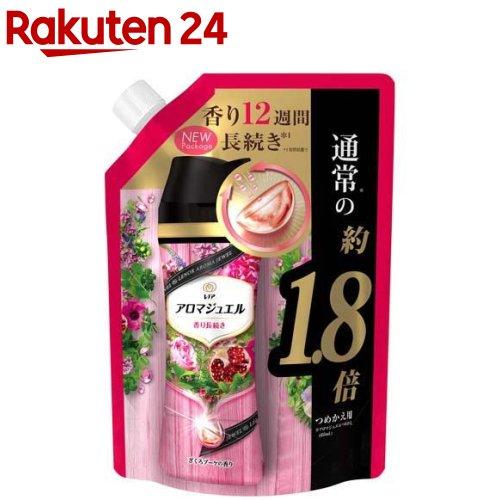 レノア ハピネス 香り付け専用ビーズ アロマジュエル ざくろブーケ 詰替 特大(805ml)
