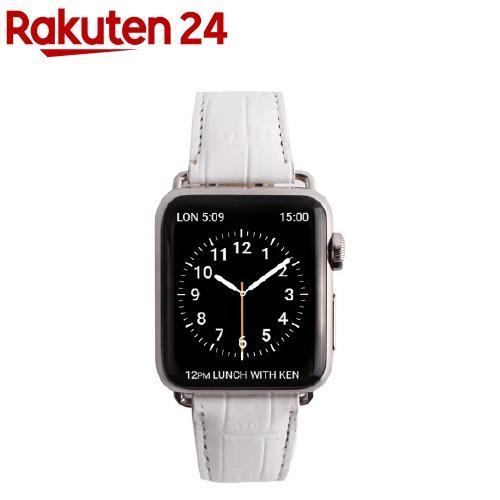 ゲイズ AppLe Watch用バンド38mm ホワイトクロコ GZ0480AW(1コ入)【ゲイズ】