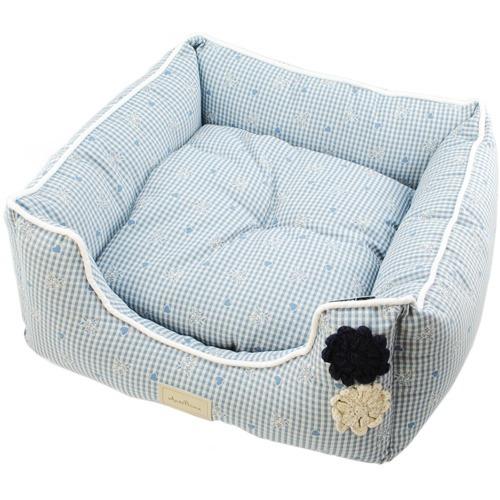 アンテプリマ アンテフラワー ベッド クッション付き L ブルー(1コ入)