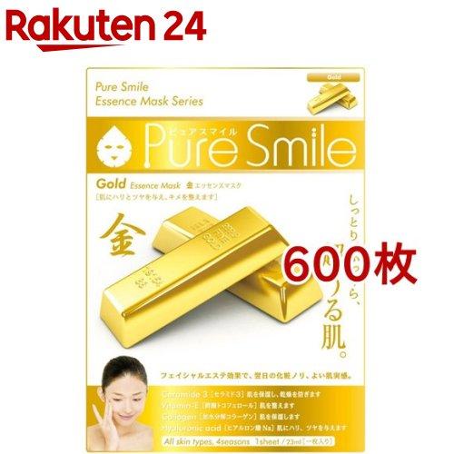 ピュアスマイル エッセンスマスク 金(600枚セット)【ピュアスマイル(Pure Smile)】