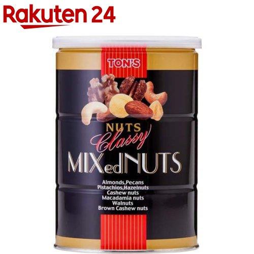 おやつ TON'S 東洋ナッツ食品 クラッシー ミックスナッツ 缶 日本最大級の品揃え イチオシ 360g 商い