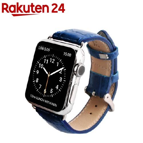 ゲイズ AppLe Watch用バンド38mm ブルークロコ GZ0482AW(1コ入)【ゲイズ】
