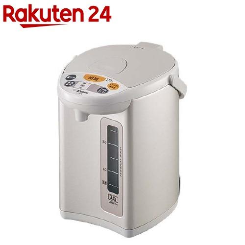 象印 ZOJIRUSHI マイコン沸とう電動ポット CD-WY30-HA 1台 グレー 高級 ☆新作入荷☆新品