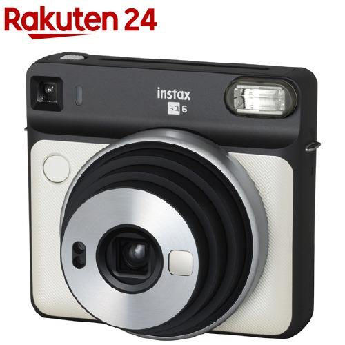 富士フイルム インスタントカメラ instax SQUARE SQ6 パールホワイト(1台)【フジフイルム】