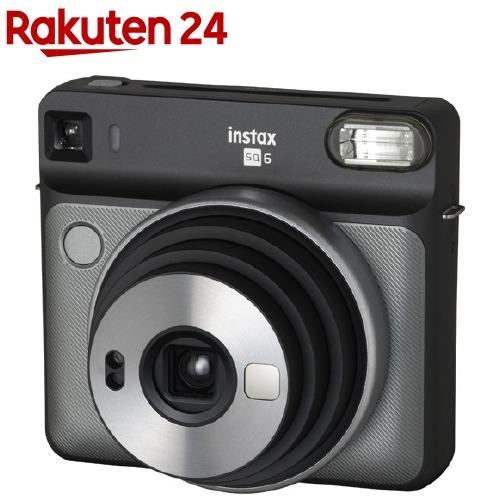 富士フイルム インスタントカメラ instax SQUARE SQ6 グラファイトグレー(1台)【フジフイルム】