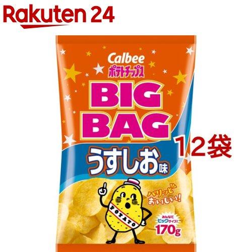 カルビー ポテトチップス ビッグバッグ ◇限定Special Price 本店 12コセット 170g うすしお味