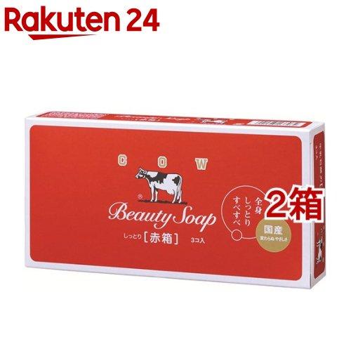 初売り カウブランド 牛乳石鹸 スーパーセール 赤箱 100g 3コ入 2コセット