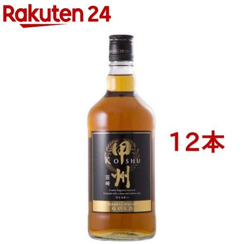 ウイスキー 甲州韮崎 ゴールド 瓶(700ml*12本セット)