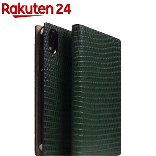 SD13696i61(1個)【SLG iPhone SLG グリーン Design(エスエルジーデザイン)】 XR リザードケース