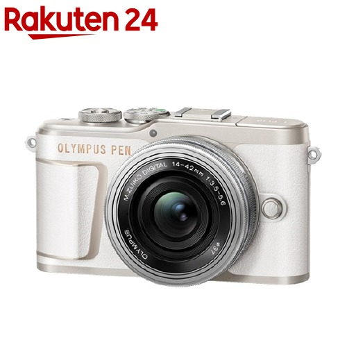 オリンパス E-PL10 14-42mm EZレンズキット ホワイト(1台)【オリンパス】