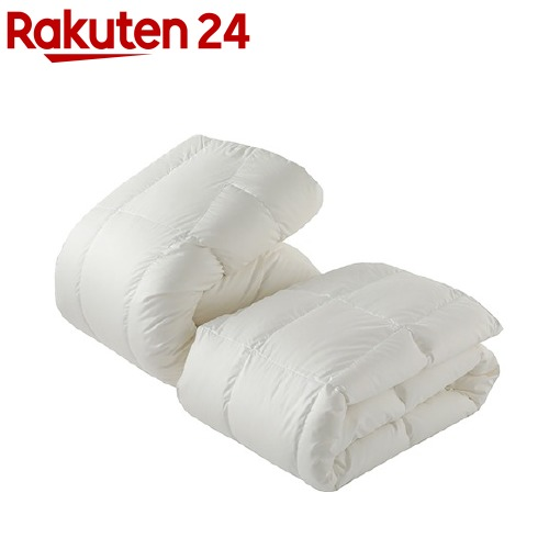 東京西川 デュエット羽毛布団 ダブル ホワイト KA28237072W(2枚組)【東京西川】【送料無料】