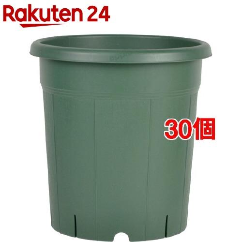 バラ鉢 8号 グリーン(30個セット)