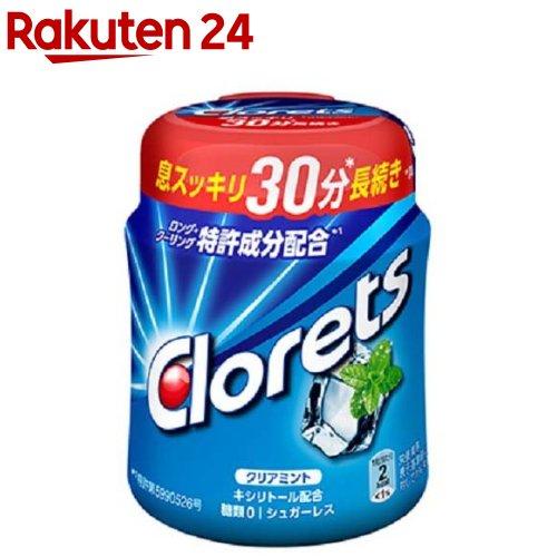 おやつ / クロレッツ / クロレッツXP クリアミントボトル 粒 クロレッツXP クリアミントボトル 粒(140g)【クロレッツ】[おやつ]