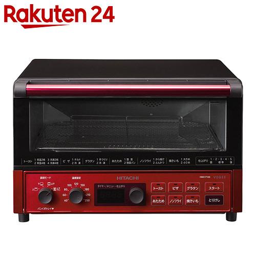 日立 コンベクションオーブントースター メタリックレッド HMO-F100 (R)