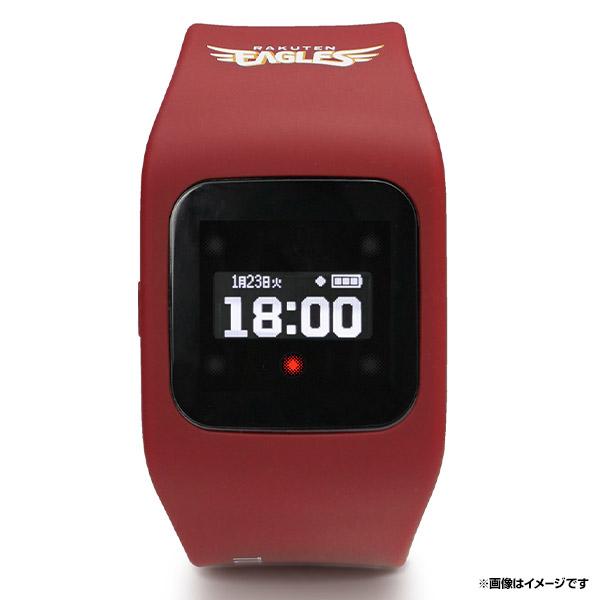 腕時計型ウェアラブル端末 funband(ファンバンド)イーグルスモデル