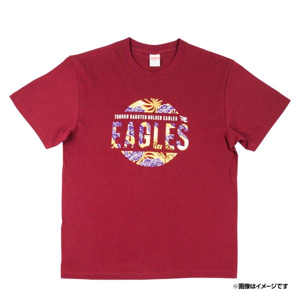 キャンプインからイーグルスを応援しよう ずーっと イヌワシ ザ バーゲン びんがた 国内送料無料 Tシャツ 東北ゴールデンイーグルス グッズ 応援 ファン 商い クリムゾン 野球