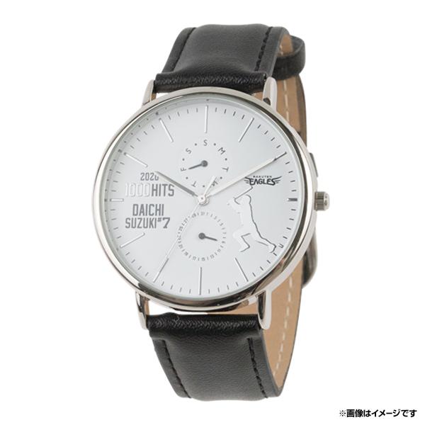2020メモラビリア 豊富な品 303個限定生産 シリアルナンバー入り腕時計《イーグルス》 鈴木大地選手1000安打記念 新作アイテム毎日更新