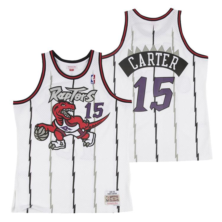 ミッチェル&ネス NBA トロント・ラプターズ ビンス・カーター 1998-99 スウィングマン ホーム ジャージー (ユニフォーム) / Mitchell & Ness Tronto Raptors Vince Carter Swingman Jersey