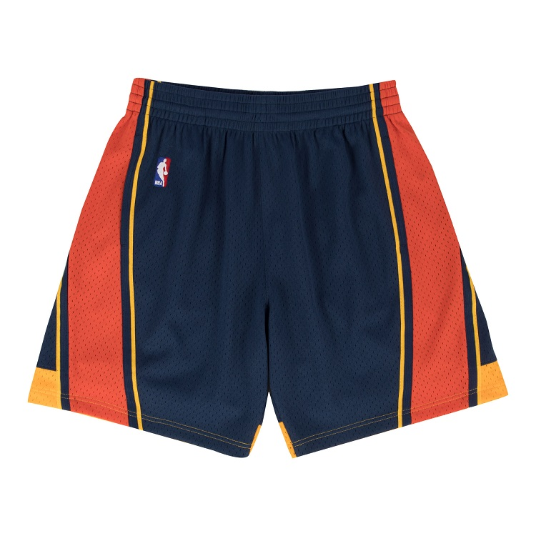 ミッチェル&ネス NBA ゴールデンステート・ウォリアーズ 2009-10 ロード スウィングマン ショートパンツ ハーフパンツ / NBA HOME SWINGMAN SHORTS GOLDEN STATE WARRIORS