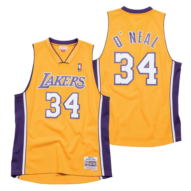 ミッチェル&ネス NBA ロサンゼルス・レイカーズ シャキール・オニール