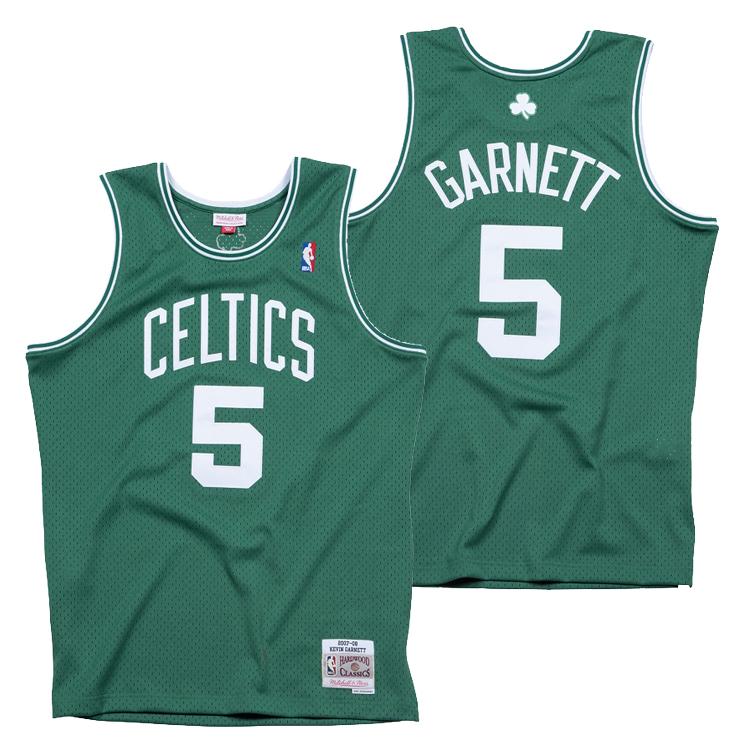 ミッチェル&ネス NBA ボストン・セルティックス ケビン・ガーネット 2007-08 スウィングマン ロード ジャージー ユニフォーム / Mitchell & Ness Boston Celtics Kevin Garnett Swingman Jersey