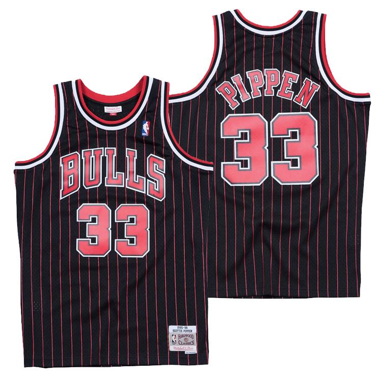ミッチェル&ネス NBA シカゴ・ブルズ スコッティ・ピッペン 1995-96 スウィングマン ロード ジャージー (ユニフォーム) / Mitchell & Ness Chicago Bulls Scottie Pippen Swingman Jersey