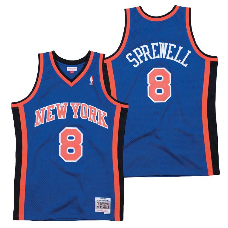 ミッチェル&ネス NBA ニューヨーク・ニックス ラトレル・スプリーウェル 2000-01 スウィングマン ロード ジャージー (ユニフォーム) / Mitchell & Ness New York Knick Latrell Sprewell Swingman Jersey