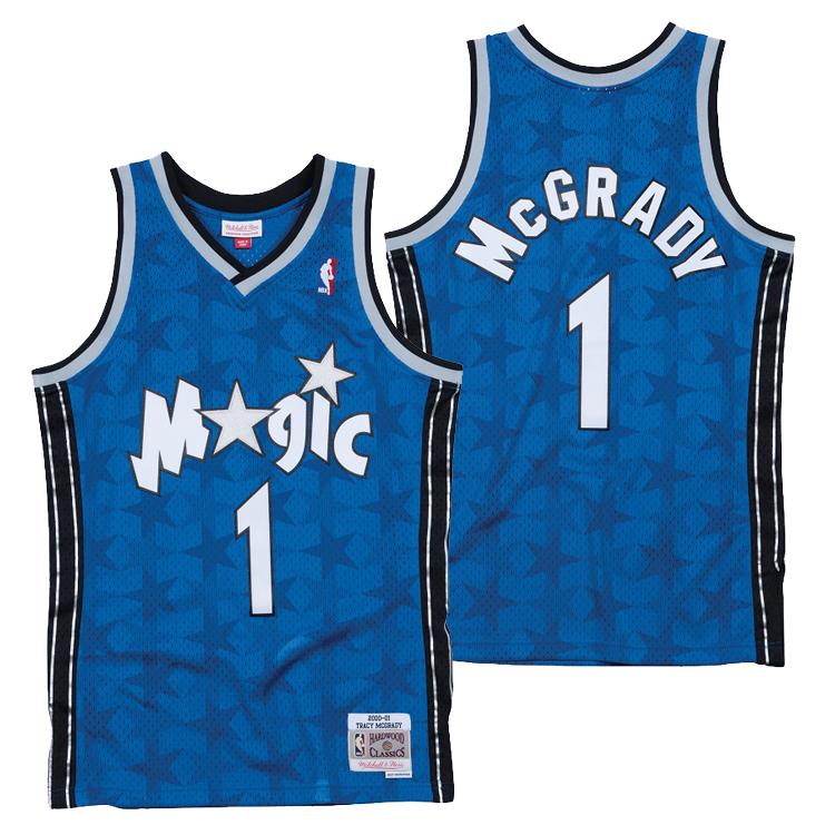ミッチェル&ネス NBA オーランド・マジック トレイシー・マグレディ 2000-01 スウィングマン ロード ジャージー ユニフォーム / Mitchell & Ness Orland Magic Tracy McGrady Swingman Jersey