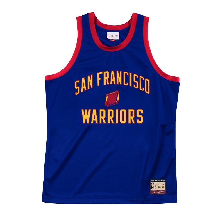 ミッチェル&ネス NBA ゴールデンステート・ウォリアーズ 1962-66 ヘリテージ タンクトップ ジャージー / Mitchell & Ness Golden State Warriors Team Heritage Tank