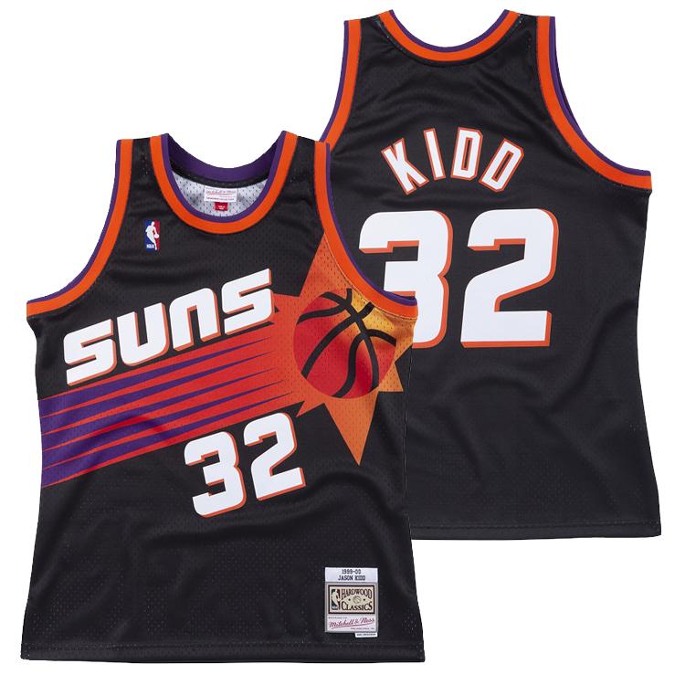 ミッチェル&ネス NBA フェニックス・サンズ ジェイソン・キッド 1999-00 スウィングマン ロード ジャージー (ユニフォーム) / Mitchell & Ness Phoenix Suns Jason Kidd Swingman Jersey