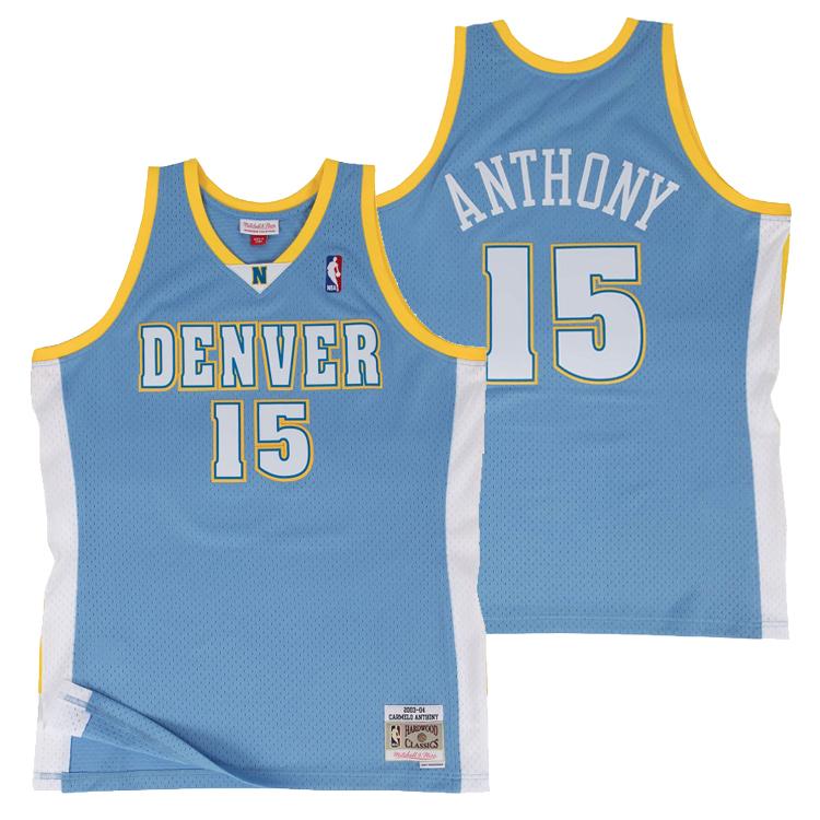 ミッチェル&ネス NBA デンバー・ナゲッツ 2003-04 カーメロ・アンソニー スウィングマン ロード ジャージー (ユニフォーム) / Mitchell & Ness Sacramento Kings Carmelo Anthony Swingman Jersey