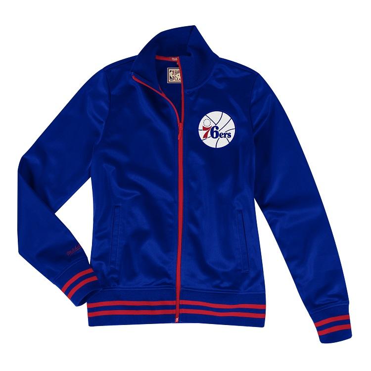 ミッチェル&ネス NBA フィラデルフィア・セブンティシクサーズ トラックジャケット レディース メンズ/ Philadelphia 76ers Women's Track Jacket/ Mitchell & Ness (ミッチェル&ネス)