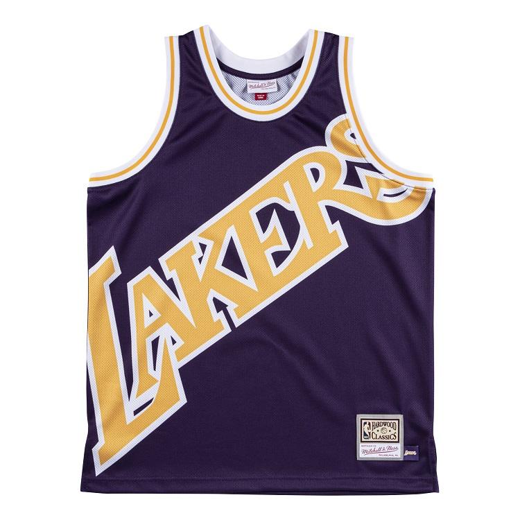 ミッチェル&ネス NBA ロサンゼルス・レイカーズ ビッグロゴ スウィングマン ジャージー / Mitchell & Ness Los Angeles Lakers Big Face Swingman Fashion Jersey
