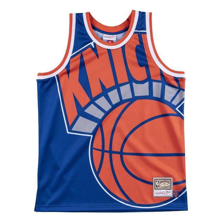 ミッチェル&ネス NBA ニューヨーク・ニックス ビッグロゴ スウィングマン ジャージー / Mitchell & Ness New York Knicks Big Face Swingman Fashion Jersey