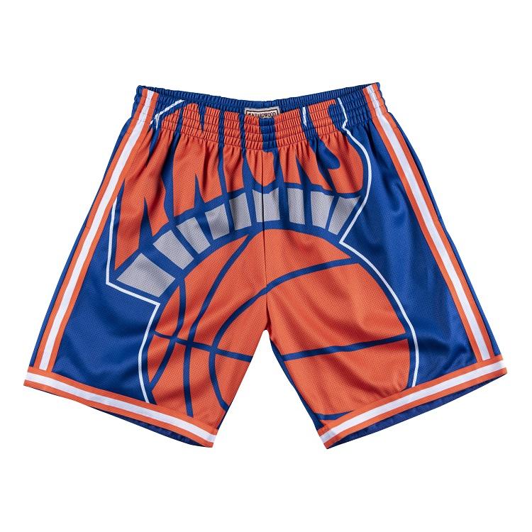 ミッチェル&ネス NBA ニューヨーク・ニックス ビッグロゴ スウィングマン ショートパンツ(ハーフパンツ) / Mitchell & Ness New York Knicks Big Face Swingman Short