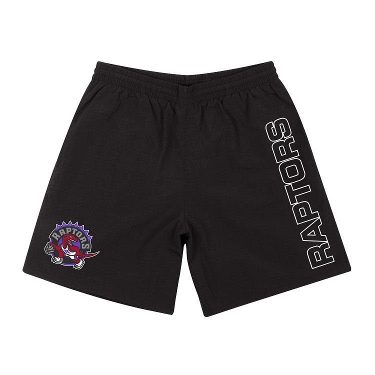 ミッチェル&ネス NBA トロント・ラプターズ ナイロン ショートパンツ(ハーフパンツ) / Mitchell & Ness TORONTO RAPTORS Nylon Shorts