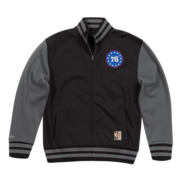NBA フィラデルフィア・セブンティシクサーズ バーシティ フリースジャケット / Philadelphia 76ers Varsity Fleece Jacket / Mitchell & Ness (ミッチェル&ネス)