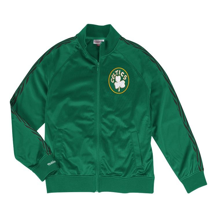 ミッチェル&ネス NBA ボストン・セルティックス トラックジャケット / Mitchell & Ness Boston Celtics Track Jacket