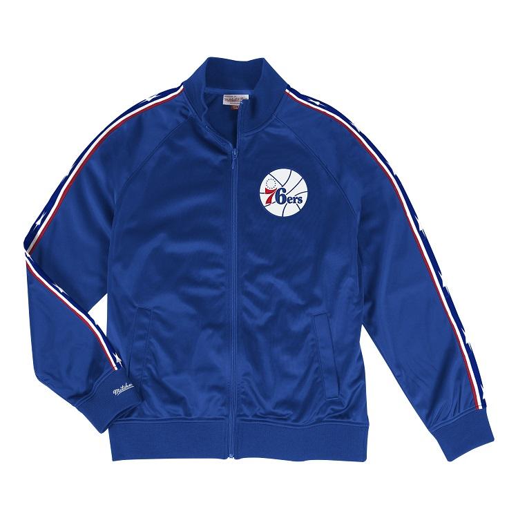 ミッチェル&ネス NBA フィラデルフィア・セブンティシクサーズ トラックジャケット / Mitchell & Ness Philadelphia 76ers Track Jacket