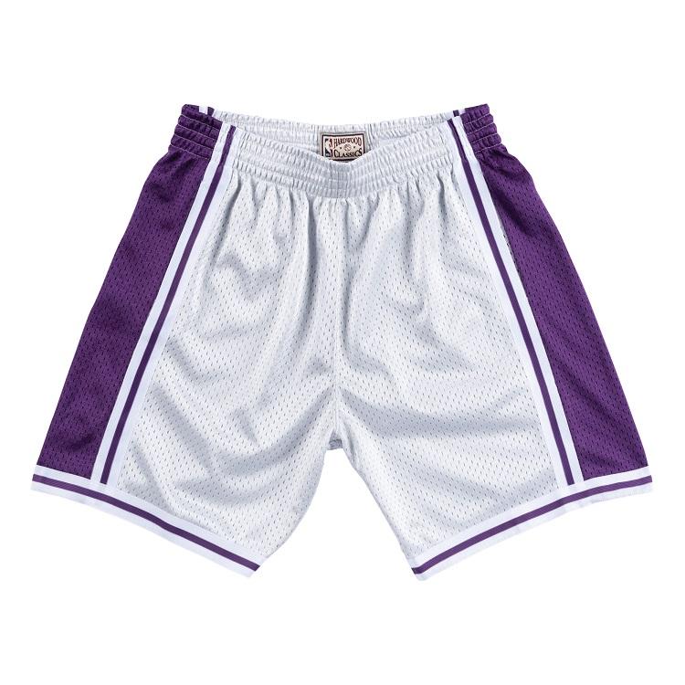 Lakers SWINGMAN ショートパンツ / SHORTS Los Angeles (ハーフパンツ) ミッチェル&ネス ロサンゼルス・レイカーズ NBA メッシュ スウィングマン プラチナム PLATINUM 1996-97