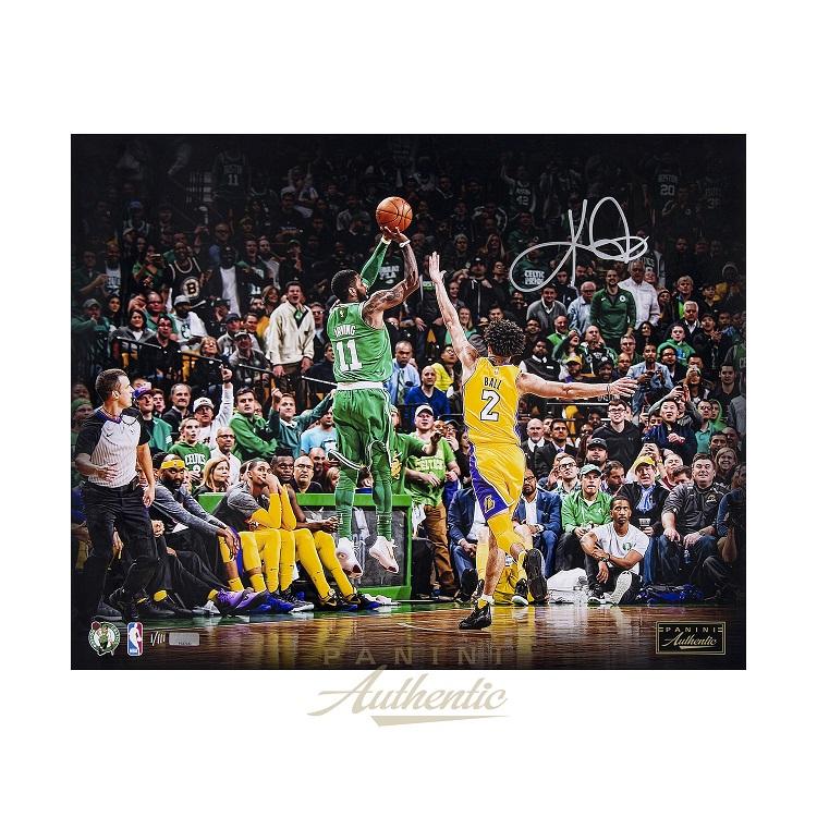 カイリー・アービング 直筆サイン入り 16x20インチ NBA セルティックス