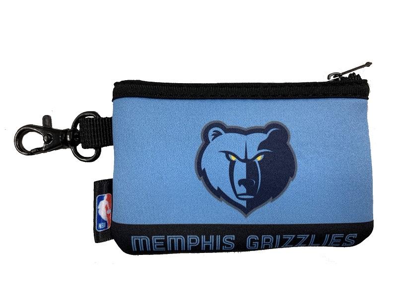 NBAファン必携のNBAオフィシャルグッズ NBA メンフィス 低価格化 送料無料 グリズリーズ Grizzlies Memphis ネオプレーンコインケース