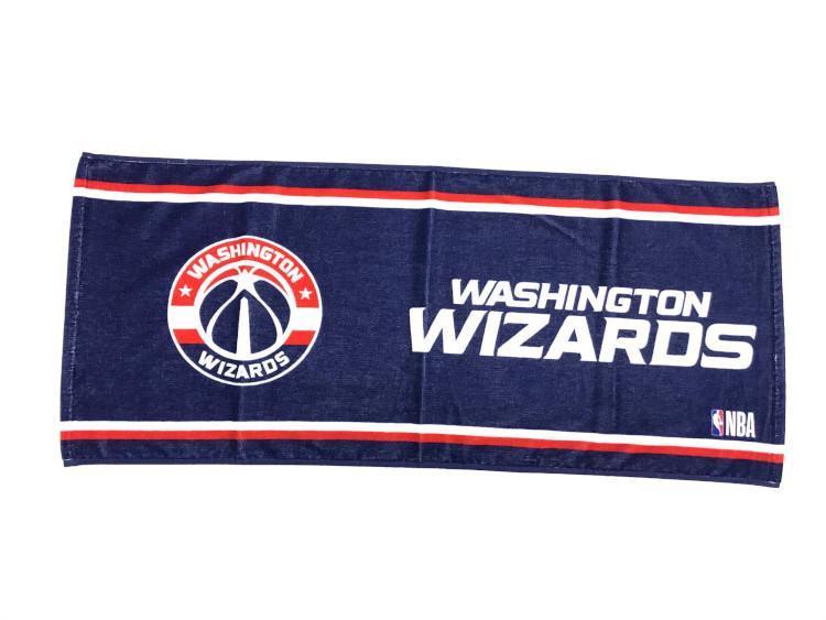 NBAファン必携のNBAオフィシャルグッズ NBA ワシントン ウィザーズ フェイスタオル NEW売り切れる前に☆ Washington ファングッズ 2020 八村塁 バスケットボール Wizards スポーツタオル 吸汗速乾