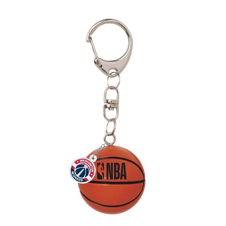 NBA お洒落 オフィシャルグッズ ボール型キーホルダー ワシントン お中元 Washington ウィザーズ Wizards